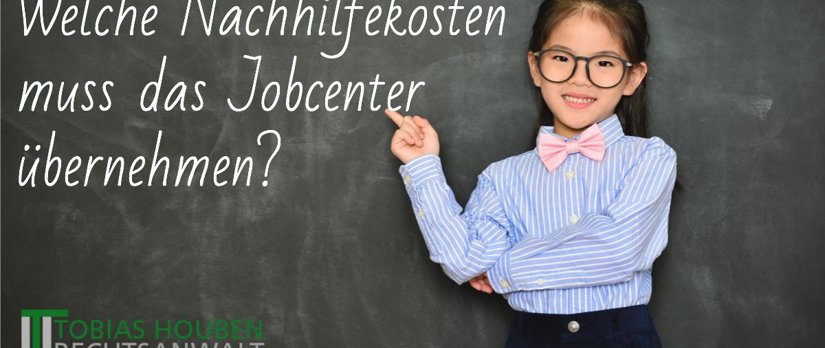 Muss das Jobcenter auch eine länger andauernde Lernförderung übernehmen?